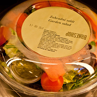 House garden boxed salad <i>(daily)</i> : Salads