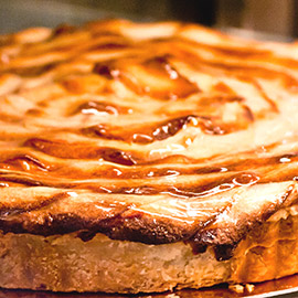 French apple tart : Tarts tortes and pies