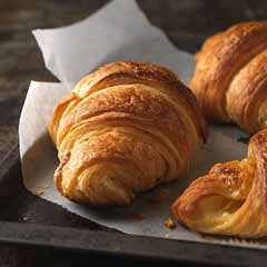 French Croissants directly from the furnace